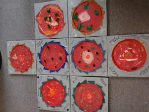 association le sablier - arts plastiques enfants -oeuvres