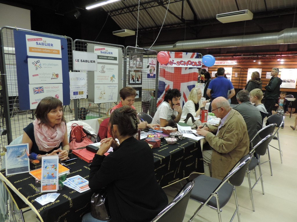 Forum des associations stand le Sablier 2015