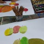 arts-plastique-pommes-fusains
