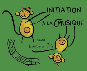 Initiation à la musique avec Louise et Titi