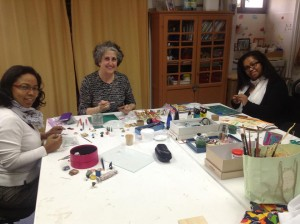 Atelier de vitrine miniature
