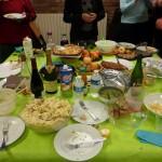Le buffet de fin d'année