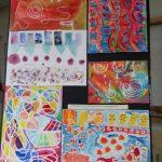 Expo de fin d'année : arts plastiques avec Géraldine