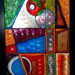 Dessin et peinture façon vitrail (28fev & 1mars)