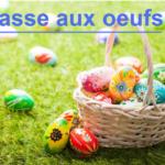 Chasse aux œufs de Pâques (22 avril)
