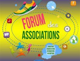 Retrouvez-nous au forum des associations (sam 8 sept)