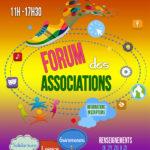 Retrouvez-nous au forum des associations (sam 5 sept)