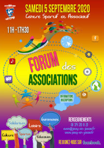 Affiche forum des associations jouy-en-josas 2020