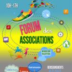 Retrouvez-nous au forum des associations (sam 4 sept)