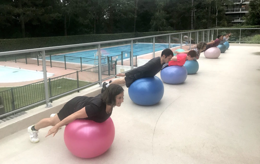Stability ball & Pilates-Jouy-en-Josas