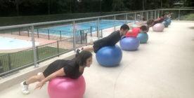 Stability ball & Pilates